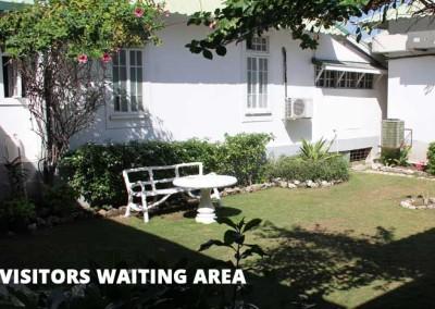 visitors waiting area