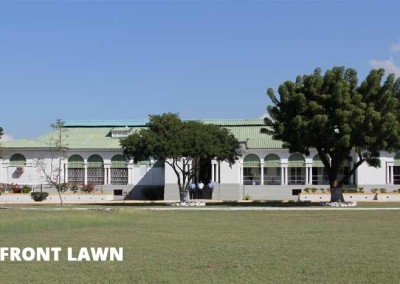 Front lawn