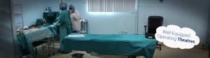 operating theatres